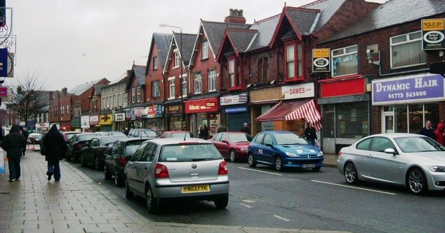 The tragically run down town of Alfreton