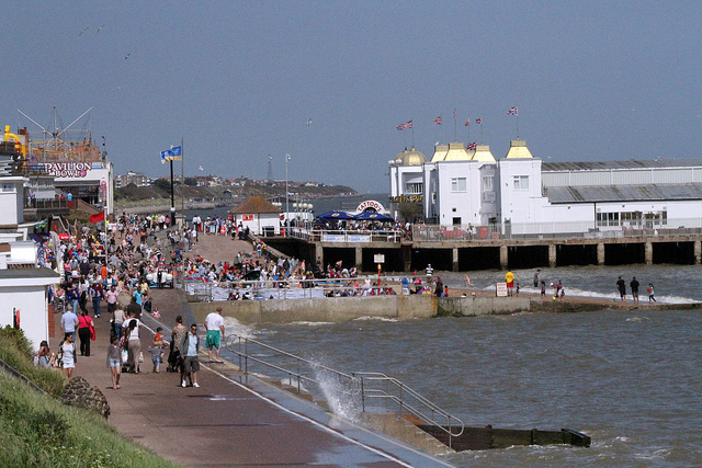 Clacton on Sea, Essex, so incestuous that it is twinned with itself