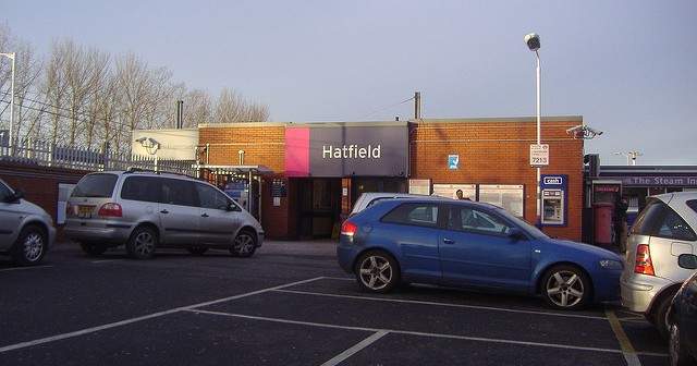 Hatfield, take the average new town. Kick it about a bit & remove all the leisure amenities