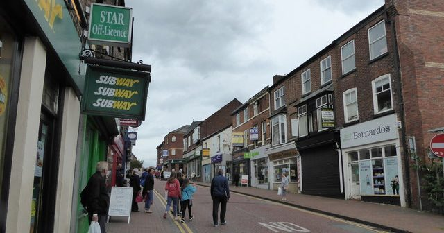 Macclesfield: for a lass born and bred in Stockport, this place is odd