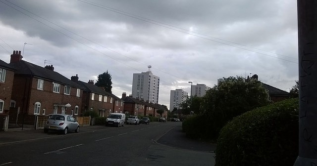 Newton Heath, Manchester, put simply is the ****-end of the world