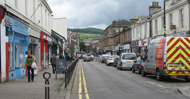 Dunoon: the houses are lined up with Junkies and criminals from across the water
