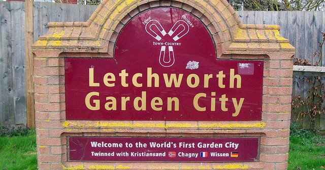 Sleezy old Letchworth. Dear oh dear!