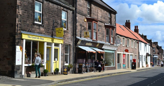 Wooler: in the morning it's a lovely rural town, by midday it changes