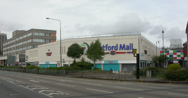 Stretford is a Mecca for ***** and scallies