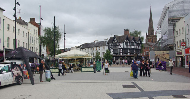 Hereford, a city of two halves