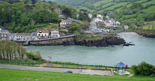 Combe Martin: The zit on the **** of England