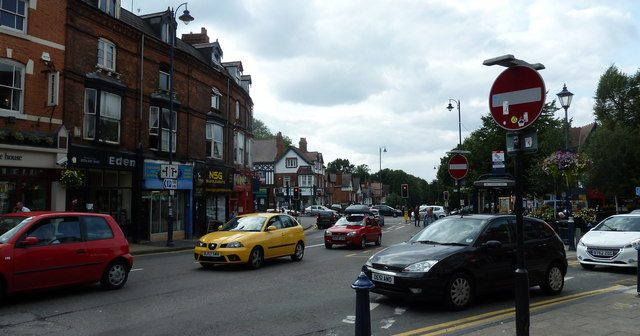 Moseley, Birmingham has become a nouveau riche *****'s paradise