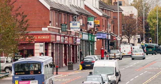 Harpurhey – You don't have to smoke spice to live here,  but it helps