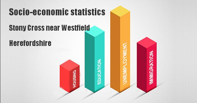 Socio-economic statistics for Stony Cross near Westfield, Herefordshire