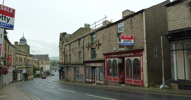 Padiham: the skid mark of Lancashire