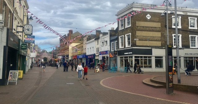 Dartford: once a thriving market town, now in decline