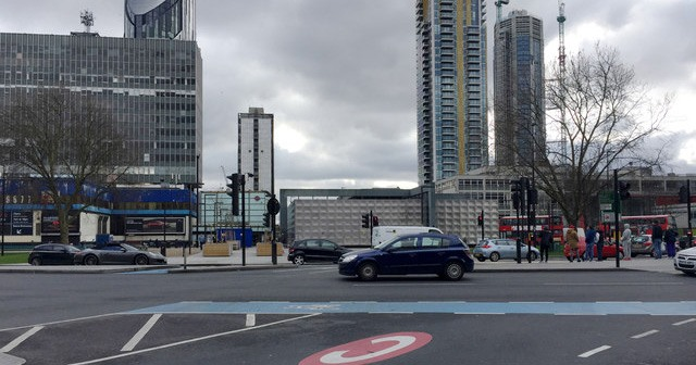 Elephant and Castle – Yep, you've got off at the wrong stop.