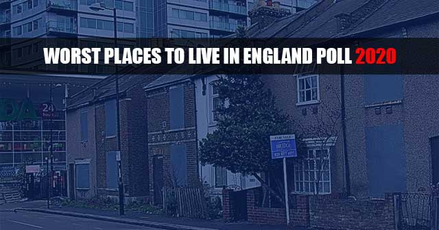 Worst place to live in England Poll 2020