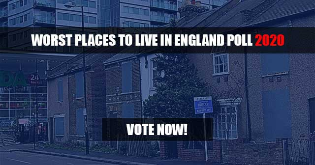 Vote for the worst place to live in England 2020