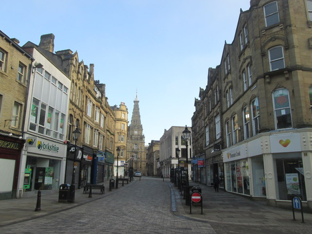 Top 10 worst places to live in England, Halifax