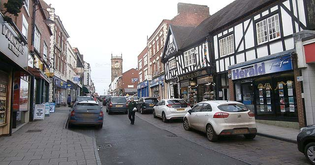 Living in Whitchurch, Shropshire