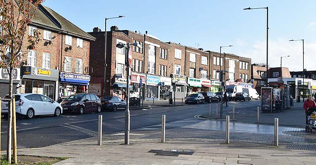 Neasden – Where the grass isn't greener because there is no grass
