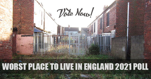 Worst place to live in England Poll 2021