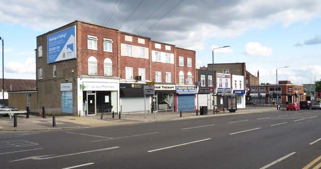 Sidcup's notorious Blackfen Road