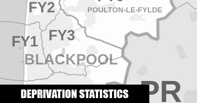 English Indices of Deprivation statistical comparisons for Lower-Super Output Areas in Park, Wyre, Lancashire