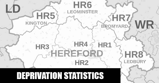 English Indices of Deprivation statistical comparisons for Lower-Super Output Areas in Bromyard Bringsty, Herefordshire, County of, Herefordshire