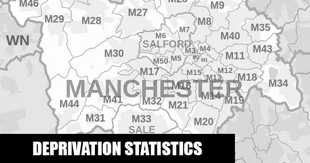 English Indices of Deprivation statistical comparisons for Lower-Super Output Areas in Clayton & Openshaw, Manchester, Greater Manchester