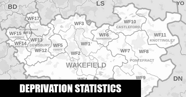 English Indices of Deprivation statistical comparisons for Lower-Super Output Areas in Horbury and South Ossett, Wakefield, West Yorkshire