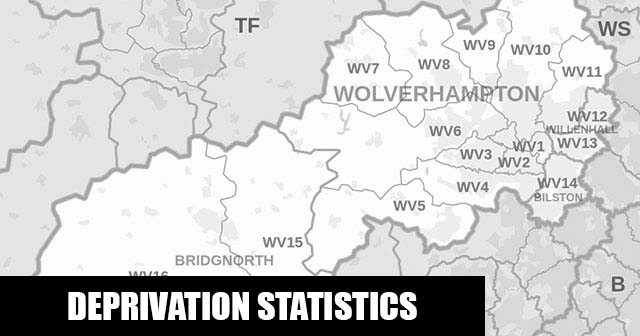 English Indices of Deprivation statistical comparisons for Lower-Super Output Areas in Fallings Park, Wolverhampton, West Midlands